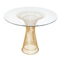 Powell Gold Leaf Dining Table